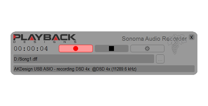 Sonoma Recording Software - Playback Designs