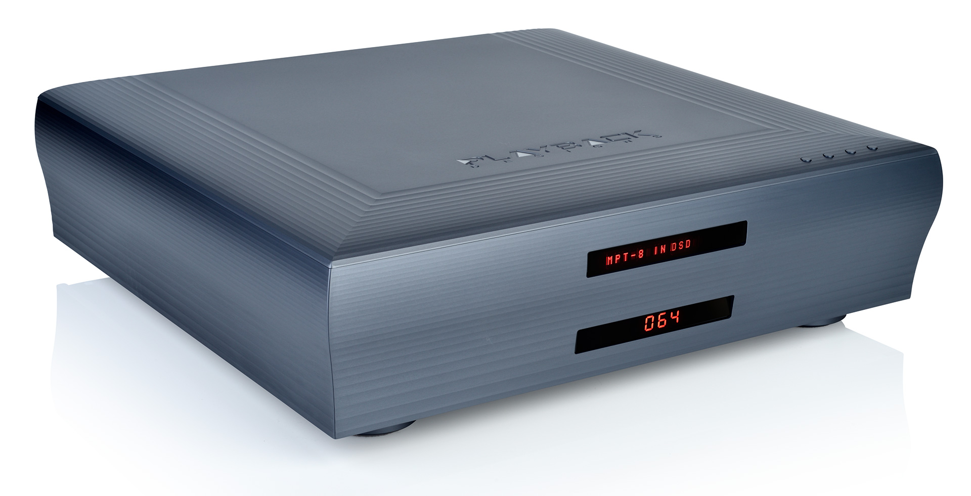 8-Series DAC - Front angled - Playback Designs